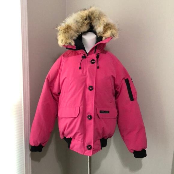 80995a11479 Canada Goose Jackets & Coats | Nwt Pink Chilliwack Bomber Coat ...